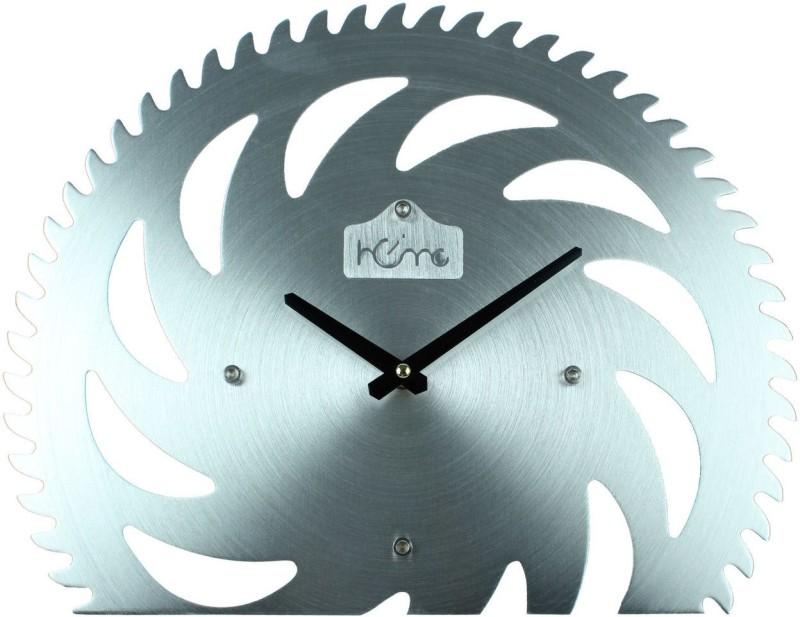 Home Analog Wall Clock Antique Alluminium Blading