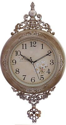 Fieesta Steven2955 Copper Color Classic Design Analog 32 cm Dia Wall Clock