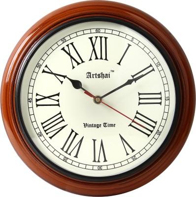 Artshai Analog 25 cm Dia Wall Clock