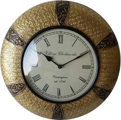 Khushal Analog 45.72 cm Dia Wall Clock