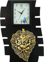 feelings Analog Wall Clock(Black, With Glass)