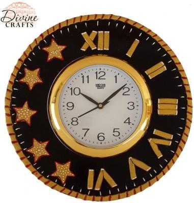 Divinecrafts Analog Wall Clock