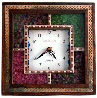 Total Furnishing Analog Wall Clock