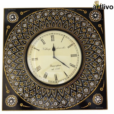 Artlivo Analog 45 cm Dia Wall Clock
