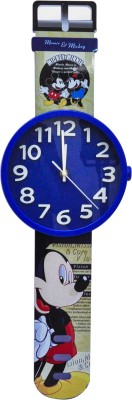 Hommate Analog 20 cm Dia Wall Clock