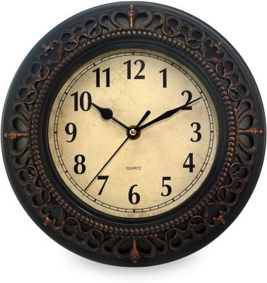 TiiKart Analog 26 cm Dia Wall Clock