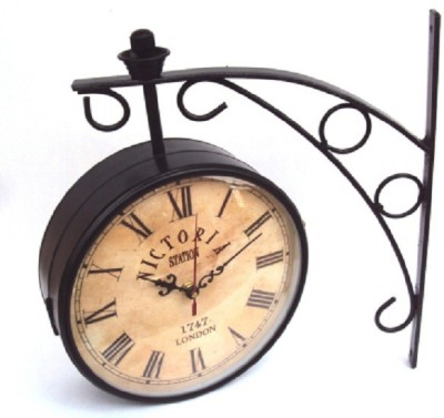 Elwin Analog 20 cm Dia Wall Clock