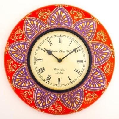 Purpledip Analog Wall Clock