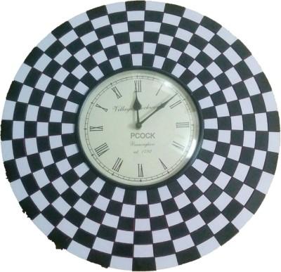 Pcock Analog Wall Clock