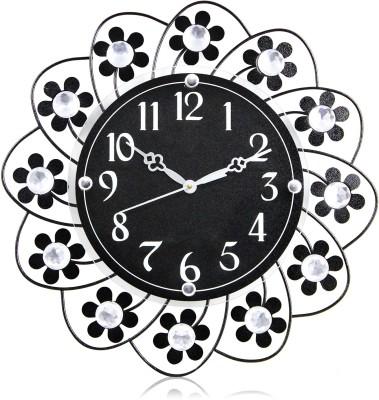 Victor306 Designer Molded Wrought Iron Analog 36 cm Dia Wall Clock