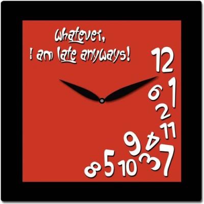 Exciting Lives Analog Wall Clock