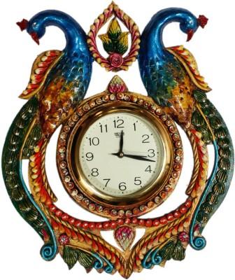 Shree Shyam Arts Word 22 cm Dia Wall Clock