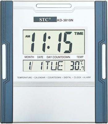 STC Digital Digital Wall Clock