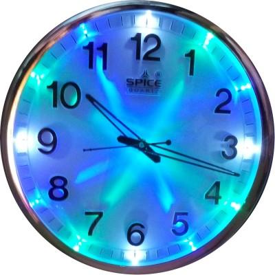 Spice Analog Wall Clock