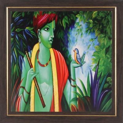 WENS Krishna Wall Art