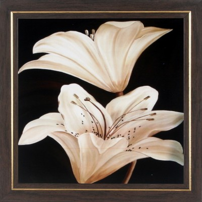 WENS White Lily Wall Painting