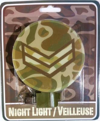 Greenbrier International Inc. Camo Military Version Night Light
