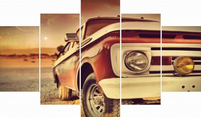 GoHooked Vintage Car Wall Art