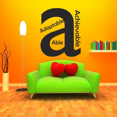 Highbeam Studio Letter A Wall Decal (Large)