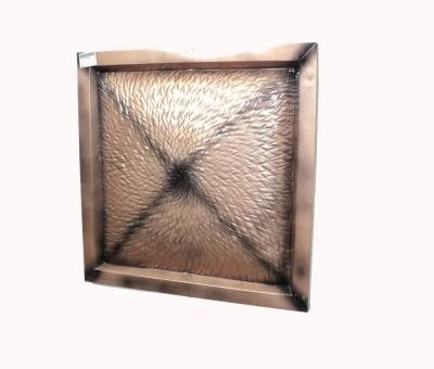 Soi Emobossed Metal Wall DéCor-Copper