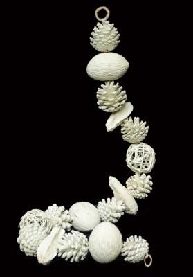 Exotic Creations Snow Range - Dried flower bandarwal