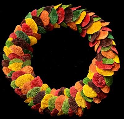 Exotic Creations Colour Fun - Dried flower wreath