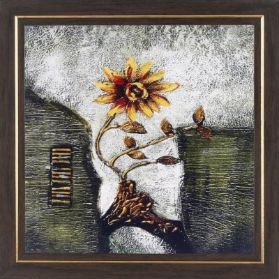 WENS Sunflower Antique Painting