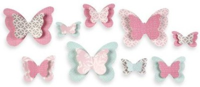 Wendy Bellissimo Mix & Match Butterfly Wall Dcor