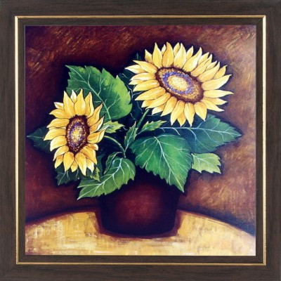 WENS Sunflower Painting