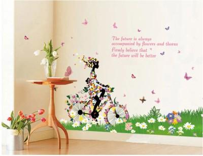 Oren Empower Butterfly lady large wall sticker