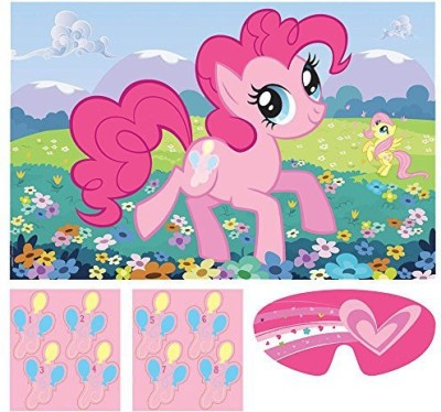 Amscan My Little Pony Friendship is Magic Party Game Poster(Multicolor)