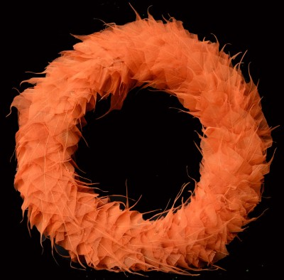 Exotic Creations Orange Delight - Dried flower wreath