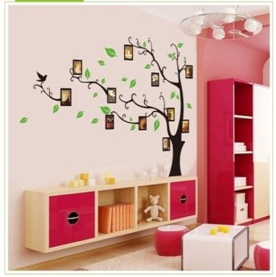 Asmi Collections Family Tree Wall Stickers