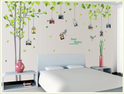 Oren Empower 2pc/set (Double Sheet) Extra Large Tree decore wall photo frame sticker