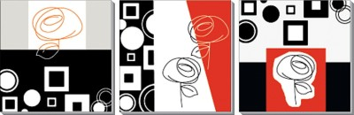 Design Home Wall Art Panel (3 Pieces)