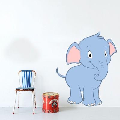 Highbeam Studio Elephant Wall Decal (Multicolor)