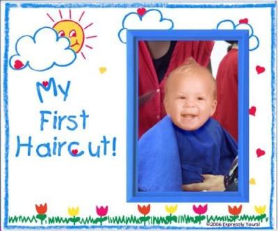 Enesco Babys First Haircut Photo Frame