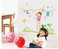 Oren Empower Nursery kids room large wall sticker(75 cm X cm 110, Multicolor)