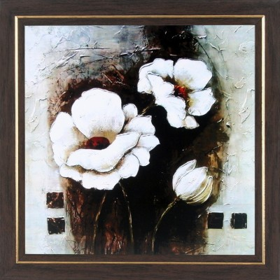 WENS Flower Painting Wall Art