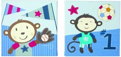 Summer Infant Count Wall Art, Team Monkey