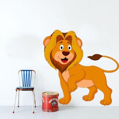 Highbeam Studio Lion Wall Decal (Multicolor)