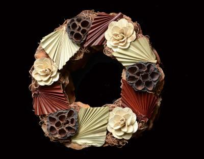 Exotic Creations Gentleman's Blend - Dried flower wreath