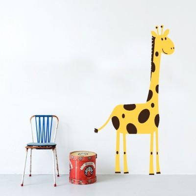 Highbeam Studio Giraffe Wall Decal (Multicolor)