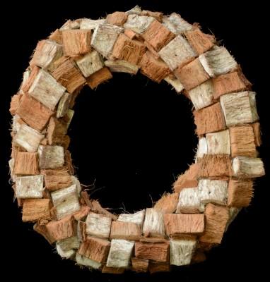 Exotic Creations Sweet Vanilla - Dried flower wreath