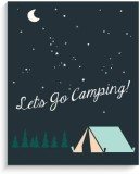 Lucy Darling Lets Go Camping Print Wall ...