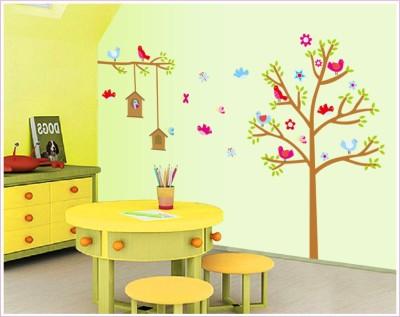 Oren Empower Brown Tree decorative large wall sticker