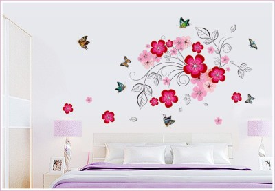Oren Empower Very Beautiful Flower Large Wall Sticker