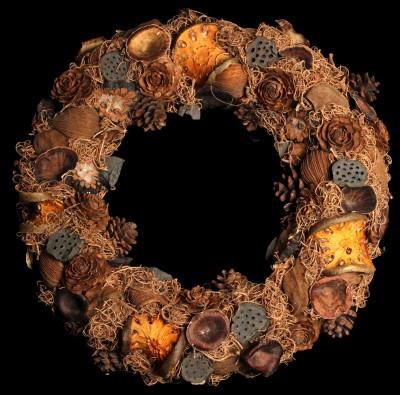 Exotic Creations Lavenderwood - Dried flower wreath