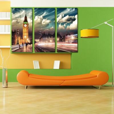 999 Store Multiple Frames Printed Clock Tower like Modern Wall Art Painting
