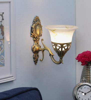 WhiteRay Antique Design Frosted Glass Night Lamp